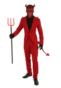 Scary halloween costumes devil
