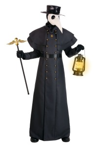 Scary halloween costumes plague doctor