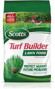 best fertilizer scotts turf builder