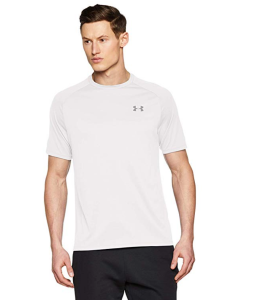 White T-shirt Workout Under Armour