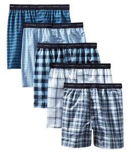 Plaid Boxers Pack Hanes