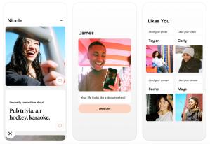 Hinge Dating App Screenshots