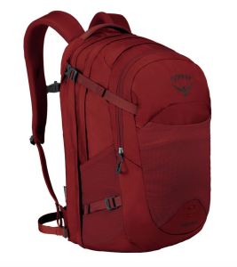 Red Backpack Hiking Osprey