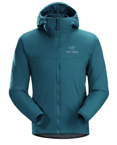 Blue Jacket Hiking Arcteryx