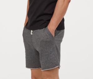 Grey Sweat Shorts H&M