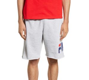 Grey Sweat Shorts Fila Men's