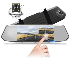 Backup Camera Rearview Mirror Touchscreen