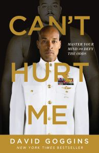 the self-help book titled can't hurt me on a white background
