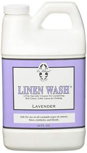 a bottle of lavender linen wash