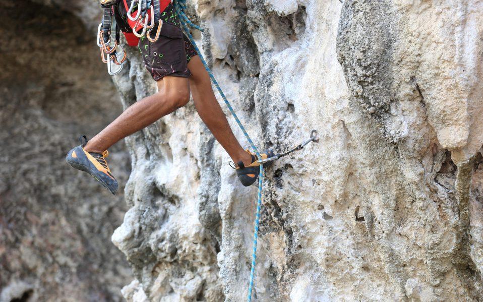 Rock Climbing Shoes Outdoors