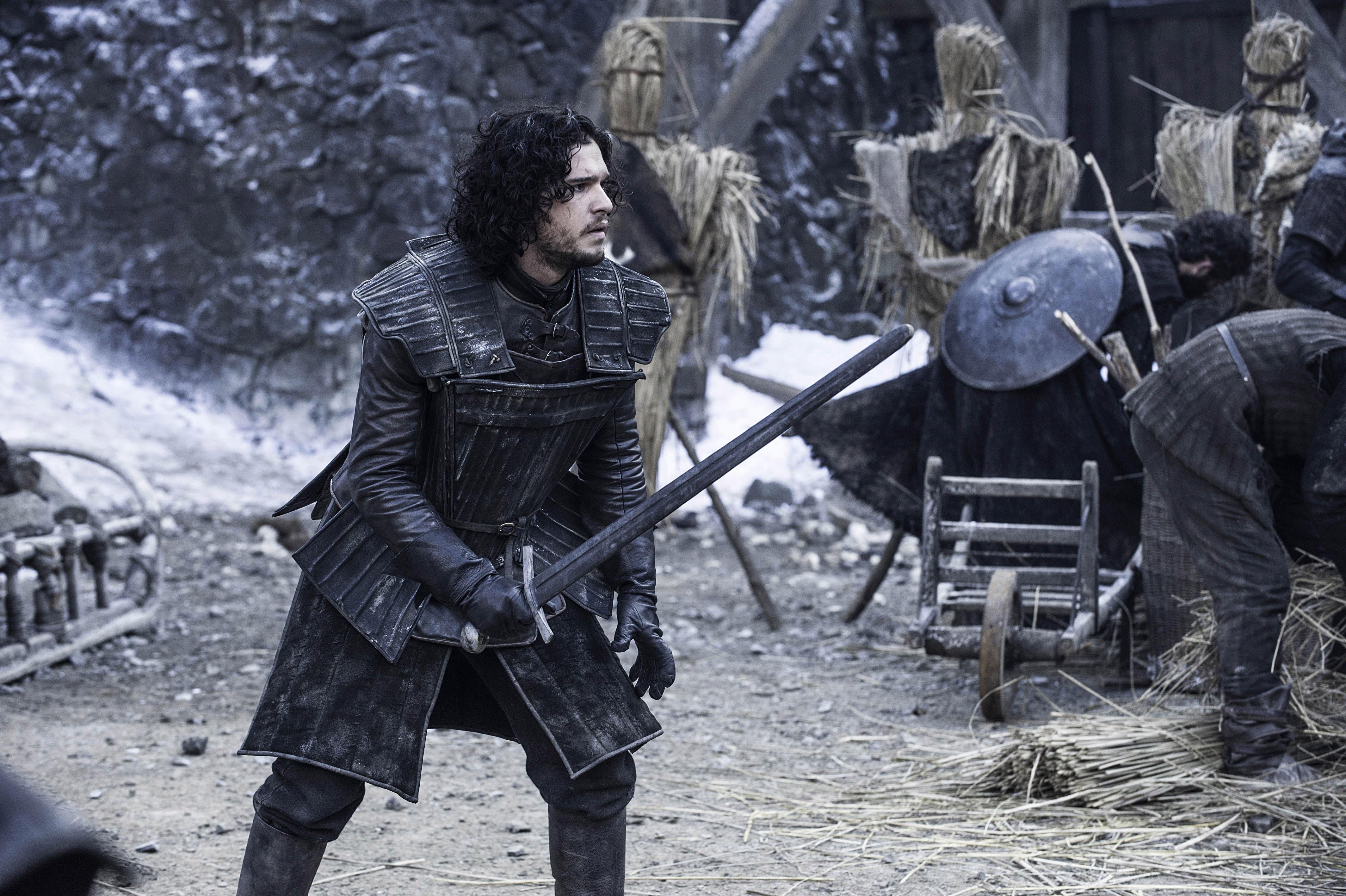 Men/'s Jon Snow Costume Cape Top FREE SWORD Game of Thrones Medieval Fancy Dress