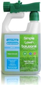 best fertilizer simple lawn solutions