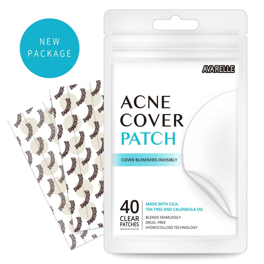 a packet of acne cover patches on a white background