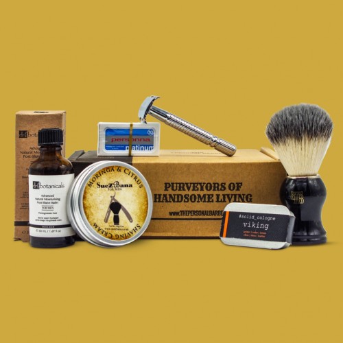 The Personal Barber Wet Shaving Box