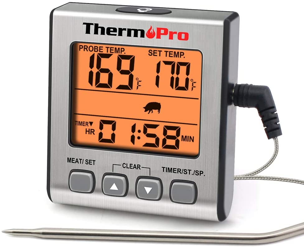 thermopro meat thermometer, best meat thermometers on amazon