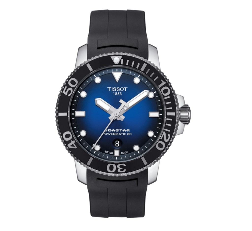 TISSOT SEASTAR 1000 POWERMATIC 80 Dive Watch - Best dive watches for men