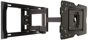 amazonbasics full motion articulating wall mount on a white background