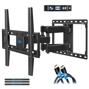 mounting dream full motion tv wall mount on a white background