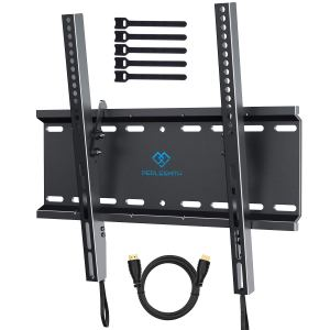 perlesmith tilting tv wall mount on a white background