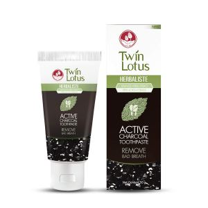 twin lotus charcoal toothpaste, best charcoal toothpaste