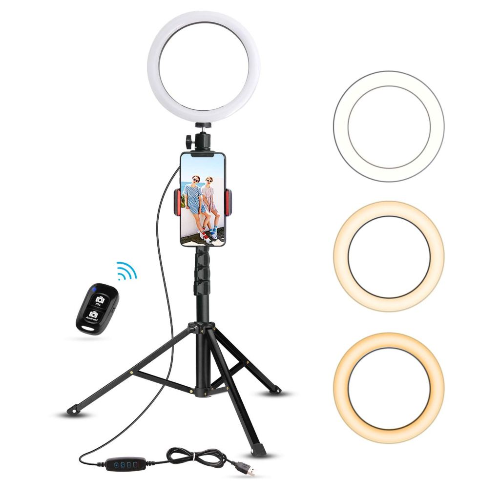 UBeesize 8″ Selfie Ring Light