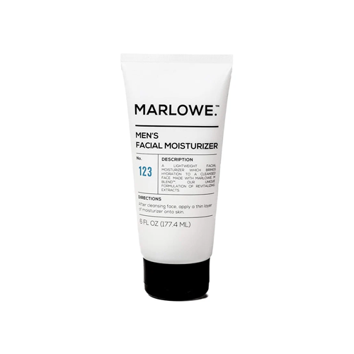 Marlowe no. 123 men's facial moisturizer, best skin care products for men