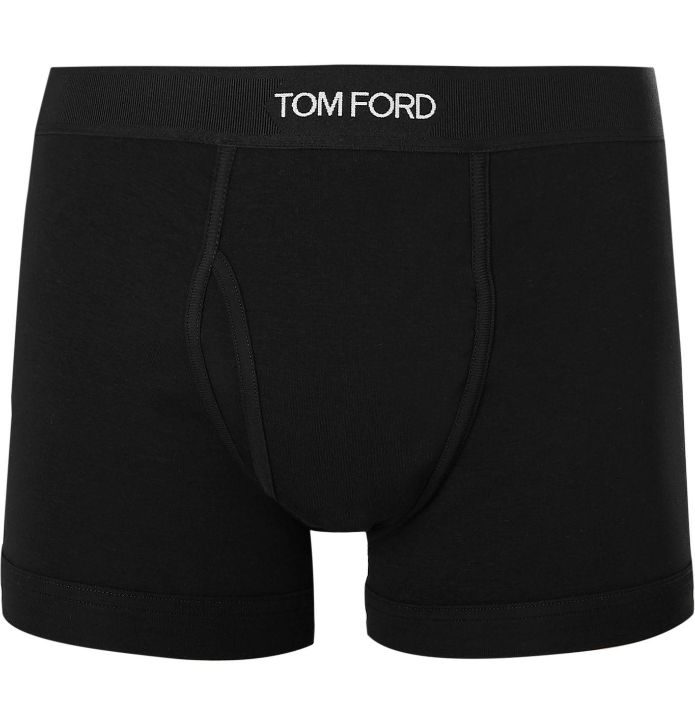 black boxer brief Tom Ford