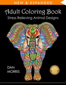 adult coloring book - best gifts for wife