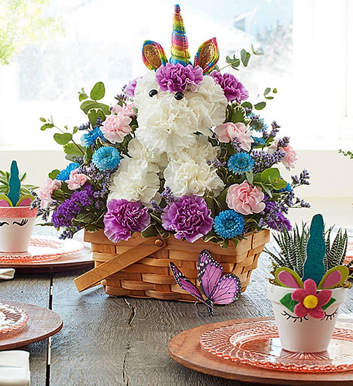 enchanting unicorn bouquet