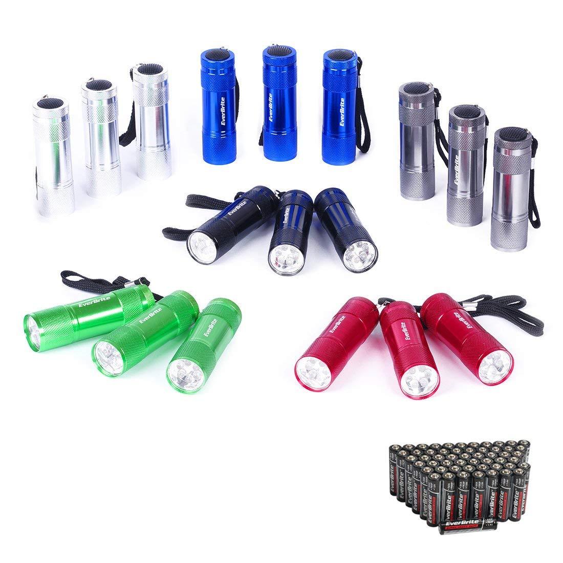 Mini Flashlight Keychain Pack