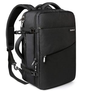Black Backpack Carry On Luggage
