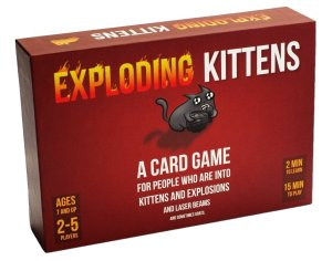 party game Exploding Kittens
