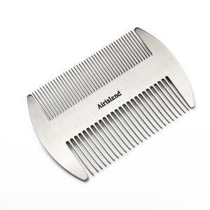 Beard Comb Metal Wallet