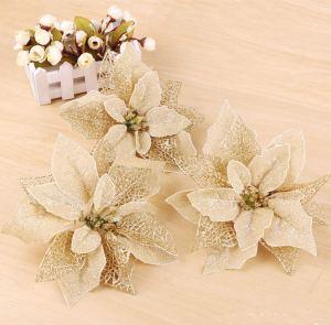 Osiga Glitter Poinsettia Tree Ornaments