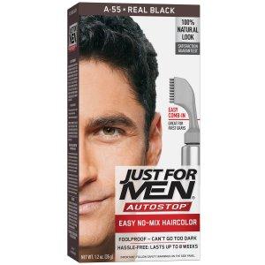 hair dye men's brush in
