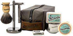 Shaving Kit Brush Razor Bag