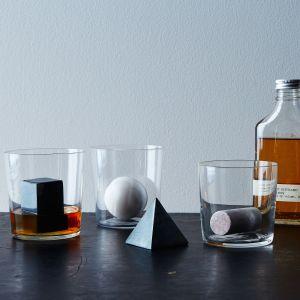 areaware geometric whiskey stones