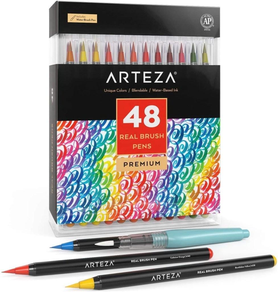 Arteza Real Brush Pens