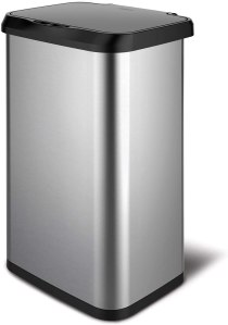 Best touchless trash can glad stainless steel