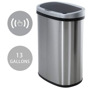Best touchless trash can hcb