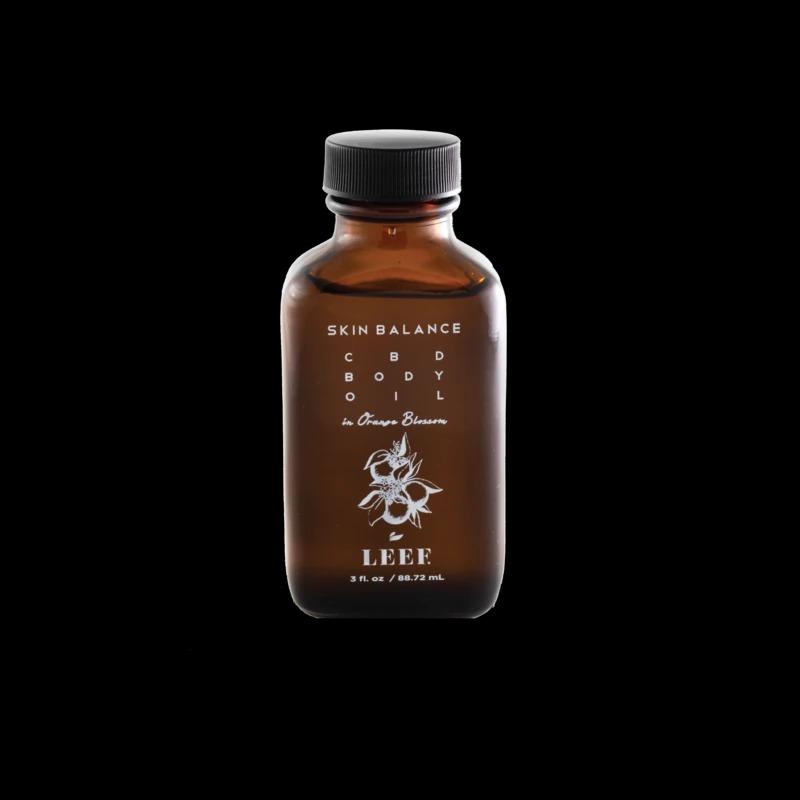 Leef Organics Skin Balance CBD Body Oil in Orange Blossom
