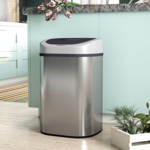 Best touchless trash can rebrilliant