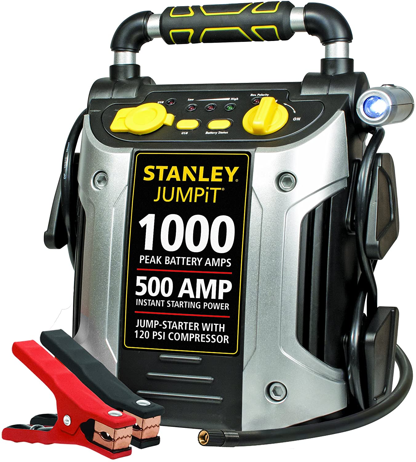 Stanley J5C09 JUMPiT Portable Power Station, car battery chargers