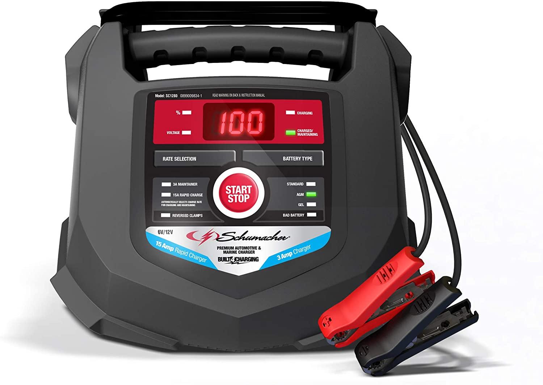 Schumacher SC1280 Smart Battery Charger, car battery chargers