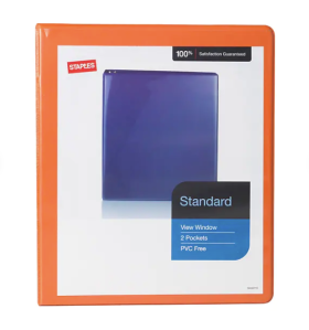Staples binder, back to school sales