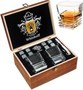 whiskoff whiskey stones set