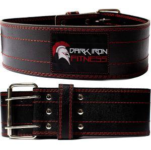 Weightlifting Belt Leather Dark Iron