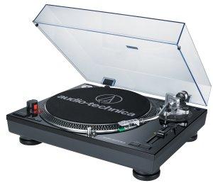 Audio Technica turntable record player