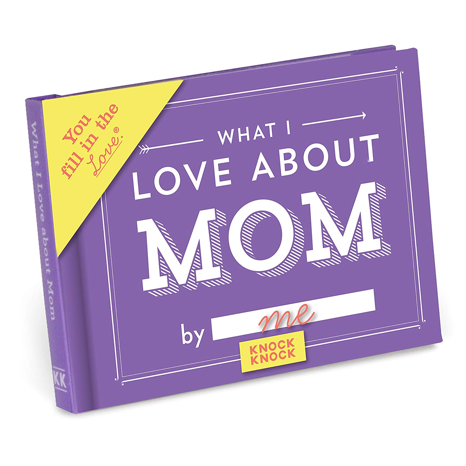 best gifts for mom, what i love about mom knock knock book