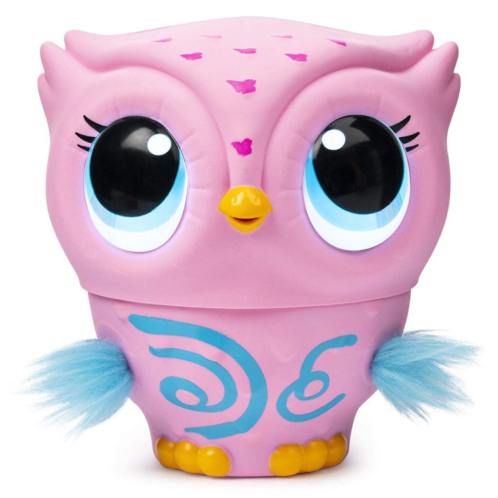 Owleez Flying Pink Baby Owl toy for kids